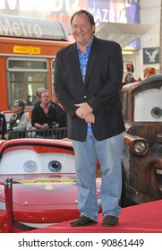 Pixar boss John Lasseter on Hollywood Boulevard where he was honored with the 2,453rd star on the Hollywood Walk of Fame. November 1, 2011  Los Angeles, CA Picture: Paul Smith / Featureflash