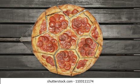 PIZZA BALL SHAPE