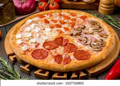 Pizza four seasons