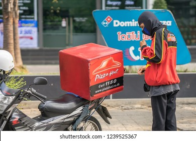 Man Motorcycle Delivery Stock Photos Images Photography