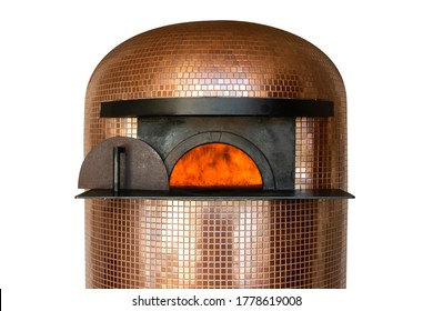 pizza oven, isolated on a white background