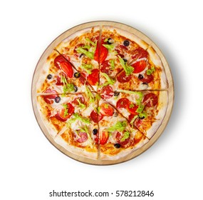Pizza pepperoni deluxe. This picture is perfect for you to design your restaurant menus. Visit my page. You will be able to find an image for every pizza sold in your cafe or restaurant.