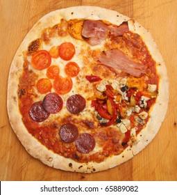 Pizza 'Quattro Stagioni'