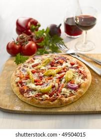 Pizza still