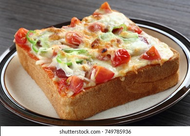 Pizza toasted bread