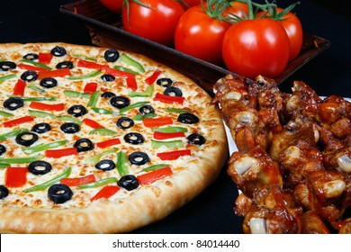 pizza and wings combo