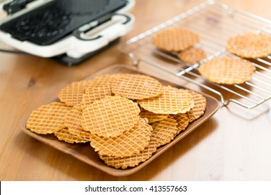 Pizzelle waffle