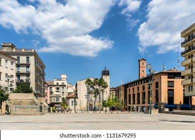 Placa de Santa Susanna in Girona Catalonia Spain