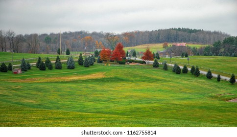 A Place called Woodstock / The field where the Woodstock Music Festival occurred in 1969.