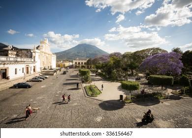 Place Central Antigua, Guatemala