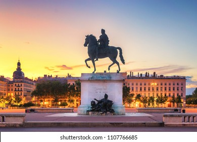 Place de Bellecour, Lyon - France