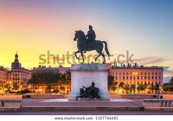 Place de Bellecour, Lyon - France