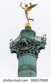 Place de la Bastille in Paris , France