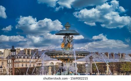 Place de la Concorde (Concorde Square), Paris, France