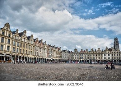 Place des Heros, Arras, North of France