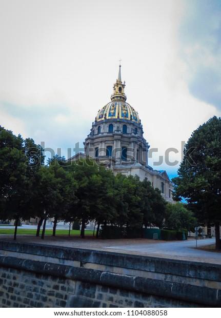 Place des Invalides in Paris