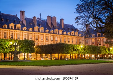 Place des Vosges in the Marais district of Paris