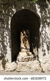 Place of the kiss of Judas (Israel, Jerusalem)