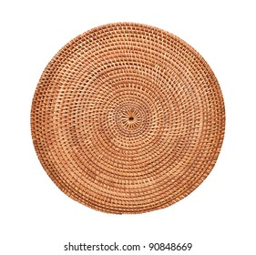 Place Mat isolated on a white background