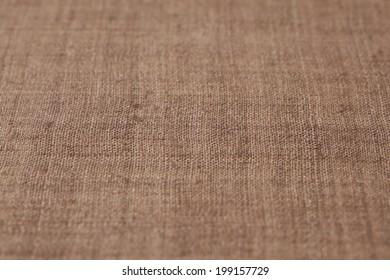 Place Mat Made Of Hemp Cloth