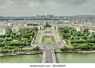 Place of Trocadero in Paris