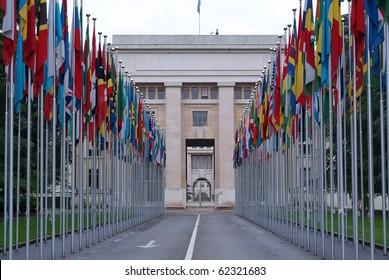 Place of United Nations in Geneva (Switzerland)
