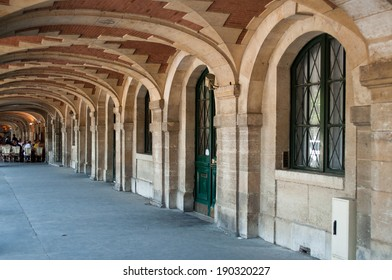 Place of Vosges in Paris