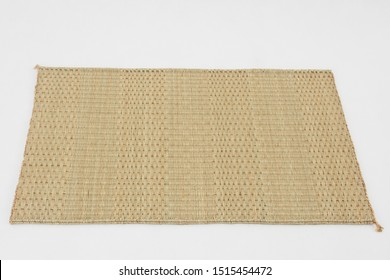 Place-mat made from Jute, is commonly found in Thailand and similar to papyrus. It is handmade.