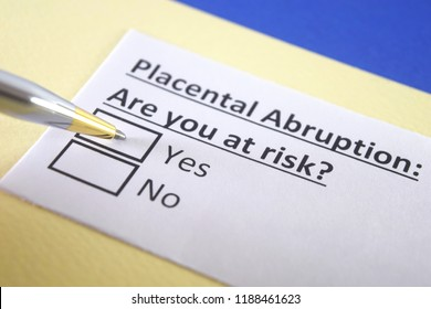 Placental abruption: are you at risk? yes or no