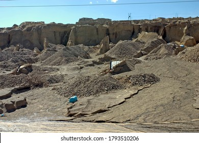 Placer Mining, Puno, Peru. Placer mining is a type of open cast mining in which minerals are extracted from alluvial deposits.