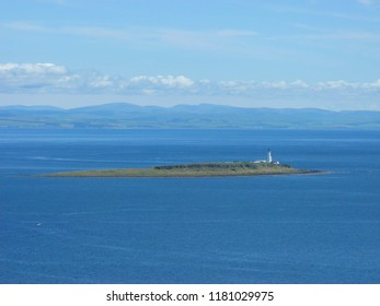 Pladda (Gaelic Pladaigh) an uninhabited island off the south coast of the Isle of Arran, Firth of Clyde, Scotland. The island is privately owned, having been put up for sale by Arran Estate in 1990.