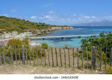 Plage du Lotu (Loto beach), Desert des Agriates. Corsica island, France