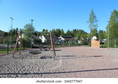 Plaground in Espoo, Finland