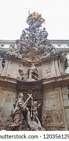 Plague Column (Pestsaule) is a Holy Trinity column located on the Graben street in Vienna, Austria.