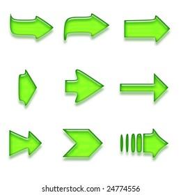 Plain aqua button - internet button design