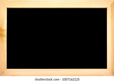 A plain blackboard with copyspace