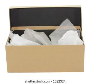 Plain brown box
