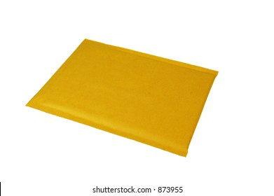 Plain Brown Shipping Envelope (with clipping path)