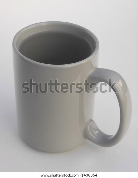 Plain Coffee Mug with Water