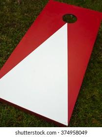 Plain Cornhole Toss Game Board