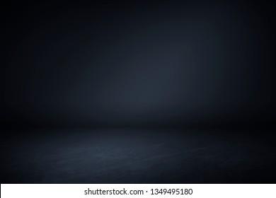 Plain dark blue wall textured background