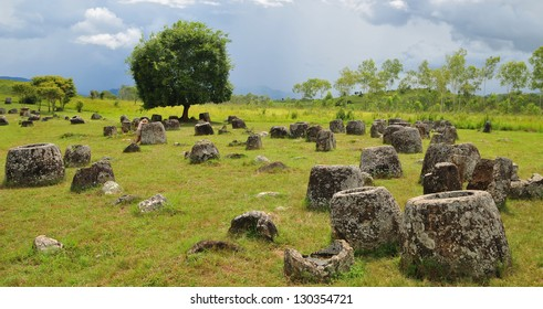 Plain of Jars, Phonsovan, Laos