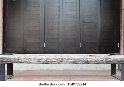 Magnificent Plain Wooden Bench Images Stock Photos Vectors Shutterstock Gmtry Best Dining Table And Chair Ideas Images Gmtryco