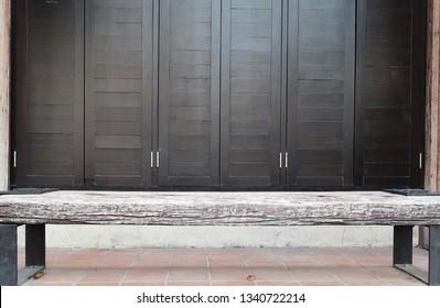 Swell Plain Wooden Bench Images Stock Photos Vectors Shutterstock Uwap Interior Chair Design Uwaporg