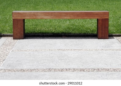 Marvelous Plain Wooden Bench Stock Photos Images Photography Gmtry Best Dining Table And Chair Ideas Images Gmtryco