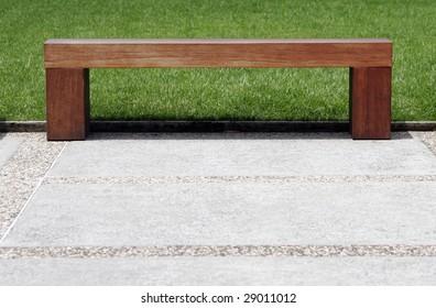 Awe Inspiring Plain Wooden Bench Stock Photos Images Photography Uwap Interior Chair Design Uwaporg