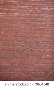 Plain view of old brick wall. Ideal as design background