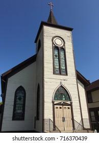 Plainfield, Illinois  Old church.