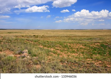 The plains near Fort Union National Monument