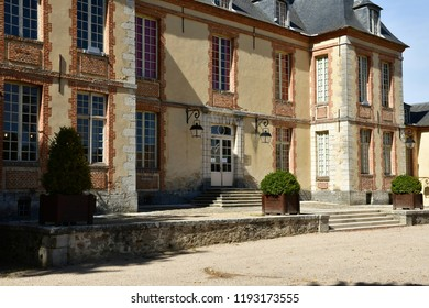 Plaisir; France - september17 2018 : the picturesque castle in summer